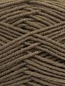 Fiber Content 50% Wool, 50% Acrylic, Brand ICE, Camel, Yarn Thickness 4 Medium  Worsted, Afghan, Aran, fnt2-42531