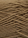 Fiber Content 50% Wool, 50% Acrylic, Light Brown, Brand ICE, Yarn Thickness 4 Medium  Worsted, Afghan, Aran, fnt2-42532