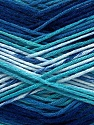 Fiber Content 100% AntiBacterial Micro Dralon, Brand ICE, Blue Shades, Yarn Thickness 2 Fine  Sport, Baby, fnt2-42654