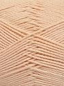 Fiber Content 50% Bamboo, 50% Viscose, Light Salmon, Brand Ice Yarns, Yarn Thickness 2 Fine  Sport, Baby, fnt2-43034