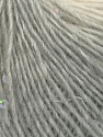 Fiber Content 65% Dralon Acrylic, 4% Paillette, 31% Wool, White, Brand Ice Yarns, Grey Shades, Yarn Thickness 3 Light  DK, Light, Worsted, fnt2-43053