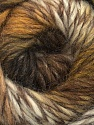 Fiber Content 70% Dralon, 30% Wool, White, Brand Ice Yarns, Brown Shades, Yarn Thickness 4 Medium  Worsted, Afghan, Aran, fnt2-43319