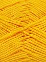 Contenido de fibra 100% Mercerizado del algodón, Yellow, Brand Ice Yarns, Yarn Thickness 2 Fine  Sport, Baby, fnt2-43396