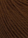 Machine washable pure merino wool. Lay flat to dry Fiberinnhold 100% Superwash Merino Wool, Brand Ice Yarns, Brown, Yarn Thickness 4 Medium  Worsted, Afghan, Aran, fnt2-43479