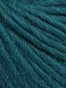 Fiber indhold 50% Virgin Uld, 40% Alpaka, 10% Akryl, Teal, Brand Ice Yarns, Yarn Thickness 5 Bulky  Chunky, Craft, Rug, fnt2-43734