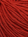 Fiber Content 50% Acrylic, 50% Cotton, Marsala Red, Brand Ice Yarns, Yarn Thickness 3 Light  DK, Light, Worsted, fnt2-43833
