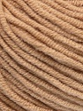 Fiber Content 50% Acrylic, 50% Cotton, Latte, Brand Ice Yarns, Yarn Thickness 3 Light  DK, Light, Worsted, fnt2-43835