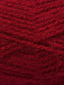 Fiber Content 100% Acrylic, Brand Ice Yarns, Burgundy, Yarn Thickness 5 Bulky  Chunky, Craft, Rug, fnt2-44358