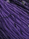 Fiber Content 65% Dralon Acrylic, 4% Paillette, 31% Wool, Purple, Brand Ice Yarns, Black, Yarn Thickness 3 Light  DK, Light, Worsted, fnt2-44478