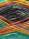 Composição 45% Bambu, 45% Lã, 10% Acrílico, Yellow, Orange, Brand Ice Yarns, Grey, Green, Yarn Thickness 3 Light  DK, Light, Worsted, fnt2-44529
