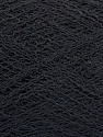 Fiber Content 50% Polyamide, 40% Baby Alpaca, 10% Merino Wool, Brand Ice Yarns, Black, Yarn Thickness 0 Lace  Fingering Crochet Thread, fnt2-44567