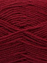 Composição 45% Bambu, 45% Lã, 10% Acrílico, Brand Ice Yarns, Burgundy, Yarn Thickness 3 Light  DK, Light, Worsted, fnt2-44600