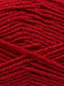 Composição 45% Bambu, 45% Lã, 10% Acrílico, Red, Brand Ice Yarns, Yarn Thickness 3 Light  DK, Light, Worsted, fnt2-44601