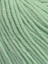 Fiber Content 50% Cotton, 50% Acrylic, Mint Green, Brand ICE, Yarn Thickness 3 Light  DK, Light, Worsted, fnt2-44637