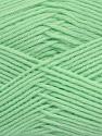 Fiber Content 50% Polyamide, 50% Acrylic, Light Green, Brand Ice Yarns, Yarn Thickness 2 Fine  Sport, Baby, fnt2-44677