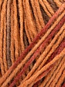 Please note that this is a self-striping yarn. Please see the package photo for the color change Fiber Content 100% Acrylic, Brand Ice Yarns, Cream, Copper, Brown, Yarn Thickness 2 Fine  Sport, Baby, fnt2-44743