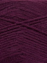 Fiber Content 100% Acrylic, Maroon, Brand Ice Yarns, Yarn Thickness 2 Fine  Sport, Baby, fnt2-44781