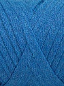 Contenido de fibra 100% Recycled Cotton, Brand Ice Yarns, Blue, Yarn Thickness 6 SuperBulky  Bulky, Roving, fnt2-44905