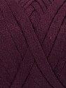 Conţinut de fibre 100% Recycled Cotton, Maroon, Brand Ice Yarns, Yarn Thickness 6 SuperBulky  Bulky, Roving, fnt2-44913