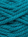 Fiber Content 55% Acrylic, 45% Wool, Teal, Brand Ice Yarns, Yarn Thickness 6 SuperBulky  Bulky, Roving, fnt2-45129