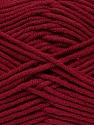 Fiber Content 55% Cotton, 45% Acrylic, Brand Ice Yarns, Burgundy, Yarn Thickness 4 Medium  Worsted, Afghan, Aran, fnt2-45146