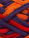 Fiber Content 100% Acrylic, Red, Purple, Orange, Brand Ice Yarns, Yarn Thickness 6 SuperBulky  Bulky, Roving, fnt2-45180
