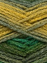 Fiber Content 90% Acrylic, 10% Polyamide, Brand Ice Yarns, Green Shades, Yarn Thickness 4 Medium  Worsted, Afghan, Aran, fnt2-45227