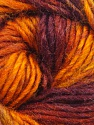 Fiber Content 70% Dralon, 30% Wool, Orange, Maroon, Brand Ice Yarns, Copper, Burgundy, Yarn Thickness 4 Medium  Worsted, Afghan, Aran, fnt2-45407