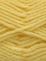 Machine washable. Lay flat to dry Contenido de fibra 80% Superwash Virgin Wool, 20% Acrílico, Yellow, Brand Ice Yarns, fnt2-45639