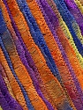 Fiber Content 100% Polyamide, Yellow, Purple, Orange, Brand Ice Yarns, Blue, fnt2-45756