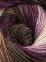 Fiber Content 40% Wool, 30% Mohair, 30% Acrylic, White, Purple, Lilac, Brand Ice Yarns, Brown Shades, Yarn Thickness 3 Light  DK, Light, Worsted, fnt2-45798