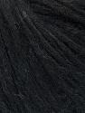 Fiber Content 27% Acrylic, 23% Nylon, 23% Wool, 15% Alpaca Superfine, 12% Viscose, Brand Ice Yarns, Black Melange, fnt2-45848