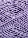 Fiber Content 50% Cotton, 30% Linen, 2% Metallic Lurex, 18% Acrylic, Lilac, Brand Ice Yarns, fnt2-45874