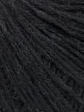 Fiber Content 30% Acrylic, 26% Wool, 16% Alpaca Superfine, 15% Polyamide, 13% Viscose, Brand Ice Yarns, Anthracite Black, fnt2-45957