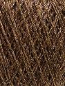 Kuitupitoisuus 50% Akryyli, 22% Polymidi, 15% Puuvilla, 13% Metallinen Lurex, Brand Ice Yarns, Gold, Camel, fnt2-45970