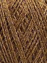 Fiberinnhold 50% Akryl, 22% polyamid, 15% Bomull, 13% Metallisk Lurex, Light Brown, Brand Ice Yarns, Gold, Yarn Thickness 1 SuperFine  Sock, Fingering, Baby, fnt2-45971