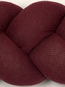 Fiber Content 75% Polyester, 5% Polyamide, 25% Cotton, Brand Ice Yarns, Burgundy, fnt2-45999