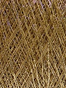 Fiber Content 60% Cotton, 40% Metallic Lurex, Brand Ice Yarns, Gold, fnt2-46013