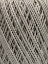 Fiber Content 100% Bamboo, Brand Ice Yarns, Grey, Yarn Thickness 2 Fine  Sport, Baby, fnt2-46018