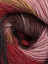 Fiber Content 40% Wool, 30% Mohair, 30% Acrylic, Rose Pink, Red, Maroon, Light Brown, Brand Ice Yarns, Black, Yarn Thickness 3 Light  DK, Light, Worsted, fnt2-46085