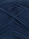 Fiber Content 80% Cotton, 20% Polyamide, Navy, Brand Ice Yarns, fnt2-46127