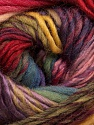 Fiber Content 60% Wool, 40% Acrylic, Yellow, Lilac, Brand Ice Yarns, Green, Burgundy, Blue, Yarn Thickness 4 Medium  Worsted, Afghan, Aran, fnt2-46284