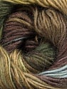 Fiber Content 40% Wool, 30% Mohair, 30% Acrylic, Brand Ice Yarns, Green Shades, Brown Shades, Yarn Thickness 3 Light  DK, Light, Worsted, fnt2-46393