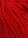 Fiber Content 40% Acrylic, 35% Wool, 25% Alpaca, Red, Brand Ice Yarns, Yarn Thickness 5 Bulky  Chunky, Craft, Rug, fnt2-46396