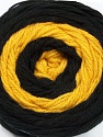 Fiberinnehåll 100% Akryl, Yellow, Brand Ice Yarns, Black, fnt2-46406