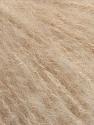 Fiber indhold 60% Akryl, 20% Uld, 20% Mohair, Brand Ice Yarns, Cream, fnt2-46487