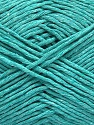 Please note that the yarn weight and the ball length may vary from one color to another for this yarn. Fiberinnehåll 100% Bomull, Mint Green, Brand Ice Yarns, fnt2-46497