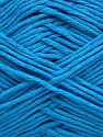 Please note that the yarn weight and the ball length may vary from one color to another for this yarn. Composição 100% Algodão, Turquoise, Brand Ice Yarns, Yarn Thickness 3 Light  DK, Light, Worsted, fnt2-46499