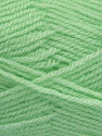 Fiber Content 100% Premium Acrylic, Brand Ice Yarns, Baby Green, Yarn Thickness 3 Light  DK, Light, Worsted, fnt2-46510