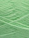 Fiber Content 100% Premium Acrylic, Brand Ice Yarns, Baby Green, Yarn Thickness 3 Light  DK, Light, Worsted, fnt2-46510